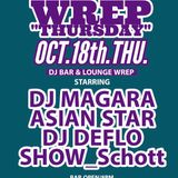 "Oct.18th.Thu. ""WREP THUSDAY"" 23:00~0:00"