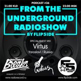 FLIP5IDE - From The Underground Radioshow podcast #036 with Virtus