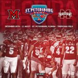 The St. Petersburg Bowl coaches Miami of Ohio's  Chuck Martin and Miss State's Dan Mullin
