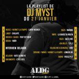 ALDGSHOW de DJ MYST aka LA LEGENDE sur Generations FM emission du 21 janvier 2018 PART I