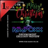 STAR RADIØ FM presents, the sound of  DJ Paradoxx | Drehmoment XMas Special |