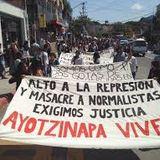 Entrevista a Gamalier y Uriel, de la Normal Rural de Ayotzinapa. Febrero 4, 2015.