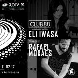 Rota 91 - 11/02/2017 - convidados - Rafael Moraes + Eli Iwasa