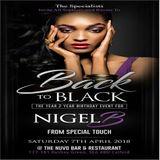 THE RAVERS ROOM PROMO CD FOR BACK II BLACK 2018.. NIGEL B's BIRTHDAY EVENT (SAT 7TH APRIL)