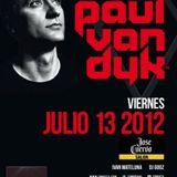 Paul van Dyk - Live @ Evolution World Tour, José Cuervo (13-07-2012)