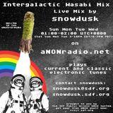 Intergalactic Wasabi Mix - Live Mix by snowdusk - Ep 482 - aNONradio,net - 2018/08/22