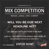 promote the bass competition mix; Lady Lox