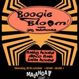 Boogie Bloom meets Jey Indahouse (4,5h Live set) 12 Oct 2017 - Malanga café Ibiza