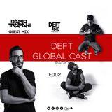 Dario Trapani on DEFT GLOBAL CAST RADIO E002