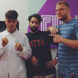 047. Achmed Akkabi in de studio en Nasrdin Dchar aan de telefoon over IEDER1