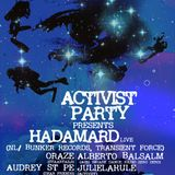 ACTIVIST PARTY XVII Nov 012
