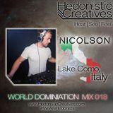 Nicolson - Hedonistic Creatives Mix 018