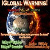 ¡Global Warning! 6th November 2019 - 13 Years at the Global Cafe