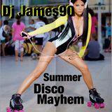 dj james90 summer disco mix myhem!! hip hop ya don't stop!!!