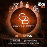 GBFM156 -- 22-09-2018 @ Groove Beat BLACK 001 at Ritch Mollen