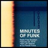Minutes of Funk [Feb 23, 2016] - UK Special