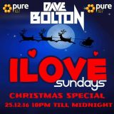 Dave Bolton - iLove Sunday's Xmas Day Special Live On Pure 107 25.12.2016