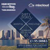David Beatson Dirty Disko Summer Sessions Mix 3