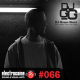 electrocaïne session #066 – Green Giant