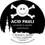 verschnibbt&zugenäht | Roter Salon mit Acid Pauli  | Januar 2012
