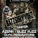AZERR live @ BAZZSURVIVORZ final edition 14 Okt. WALHALLA DEVENTER