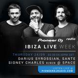 Darius Syrossian, Santé & Sidney Charles B2B2B - Live @ Do Not Sleep @ Space Ibiza