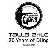 Talla 2XLC live at Dorian Gray Frankfurt am Main (D) - 20 Years of DJing - Recorded Oct. 2000