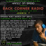 BACK CORNER RADIO: Episode #263 (March 23rd 2017)