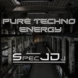 Spec J DJ - Pure Techno Energy 003 on TM Radio - 02-Mar-2018