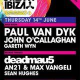Deadmau5 - Live @ Cream Ibiza, Amnesia, Ibiza, Espanha (14.06.2012)