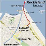 dj FLUO' reggae & drum'n'bass in Rockisland disco sul molo di Rimini