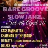 ROBANKS & LB PROMOTIONS PRESENTS RAREGOOVE MEETS SLOWJAMZ PT4 MIX CD