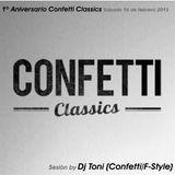 1º Aniversario Confetti Classics (2013)