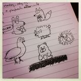 Several Species of Crudely Scribbled Animals...
