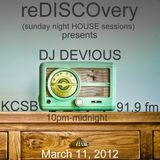 reDISCOvery Show KCSB 91.1fm 3-11-2012