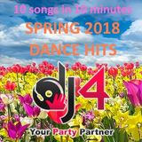 Spring 2018 Dance Hits - 10 songs and 10 minutes