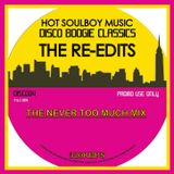 DISCO BOOGIE CLASSICS  THE RE-EDITS THE NEVER TOO MUCH MIX