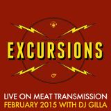 Excursions Radio Show #38 with DJ Gilla