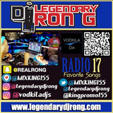 """DJ RON G RADIO REPLAY 17 - BLENDS & YOUR FAVORITE SONGS """" 2017 """""""