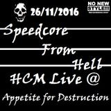 HCM @ APPETITE FOR DESTRUCTION - 26/11/2016