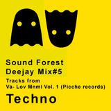 Tech House/ Techno/ Minimal - VA- Lov Mnml Vol. 1 (Picche Records) Sound Forest Dj mix #5