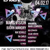 Discolaser at Räuber&Rebellen | 04-02-2017 - Ben Strauch