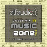 Music Zone By Alfa Audio guest Jordan Petrof  (March 2015)