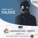 Underground Therapy With EP 216 Guest Mix - KAUSHI