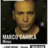 Marco Carola Live @ Yalta Club,Bulgaria (12.11.2011)