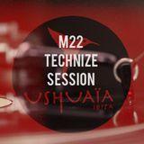 USHUAIA IBIZA RADIO - Marco Lissandrin (M22) - TECHNIZE (Session 09/12/2015)
