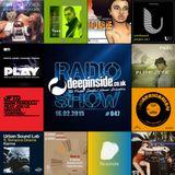 DEEPINSIDE RADIO SHOW 047 (Groove Junkies Artist of the week)