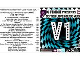 DJ FEMMIE PRESENTS DO YOU LOVE HOUSE VOL 1REMASTERED