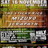 JERAPATH (HEX#3) LIVE DUB MC U-KEY, SKUPH & SOPHIA - LIVE DUB @ IRIE BEATZ NOV 2013 BKK JREGGAE