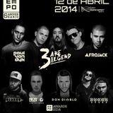 3 Are Legend - Live @ EMPO Awards 6 Anniversary Centro Banamex (Mexico City) 2014.04.12.